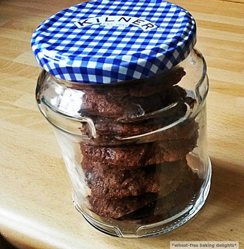 glutenfree soft chocolate cookies