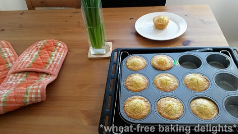 Glutenfree coconut polenta muffin 3
