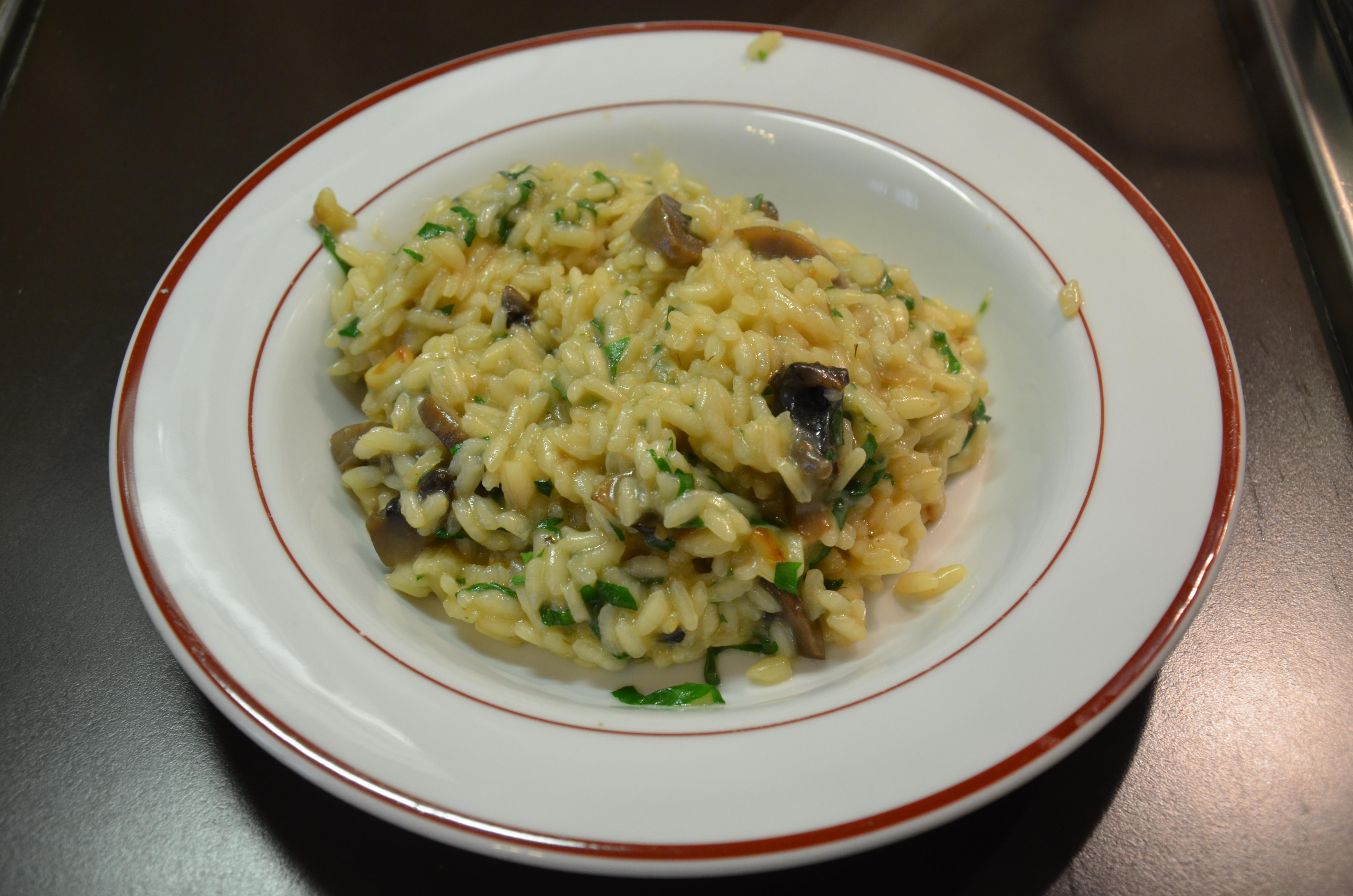 risotto champignon 7