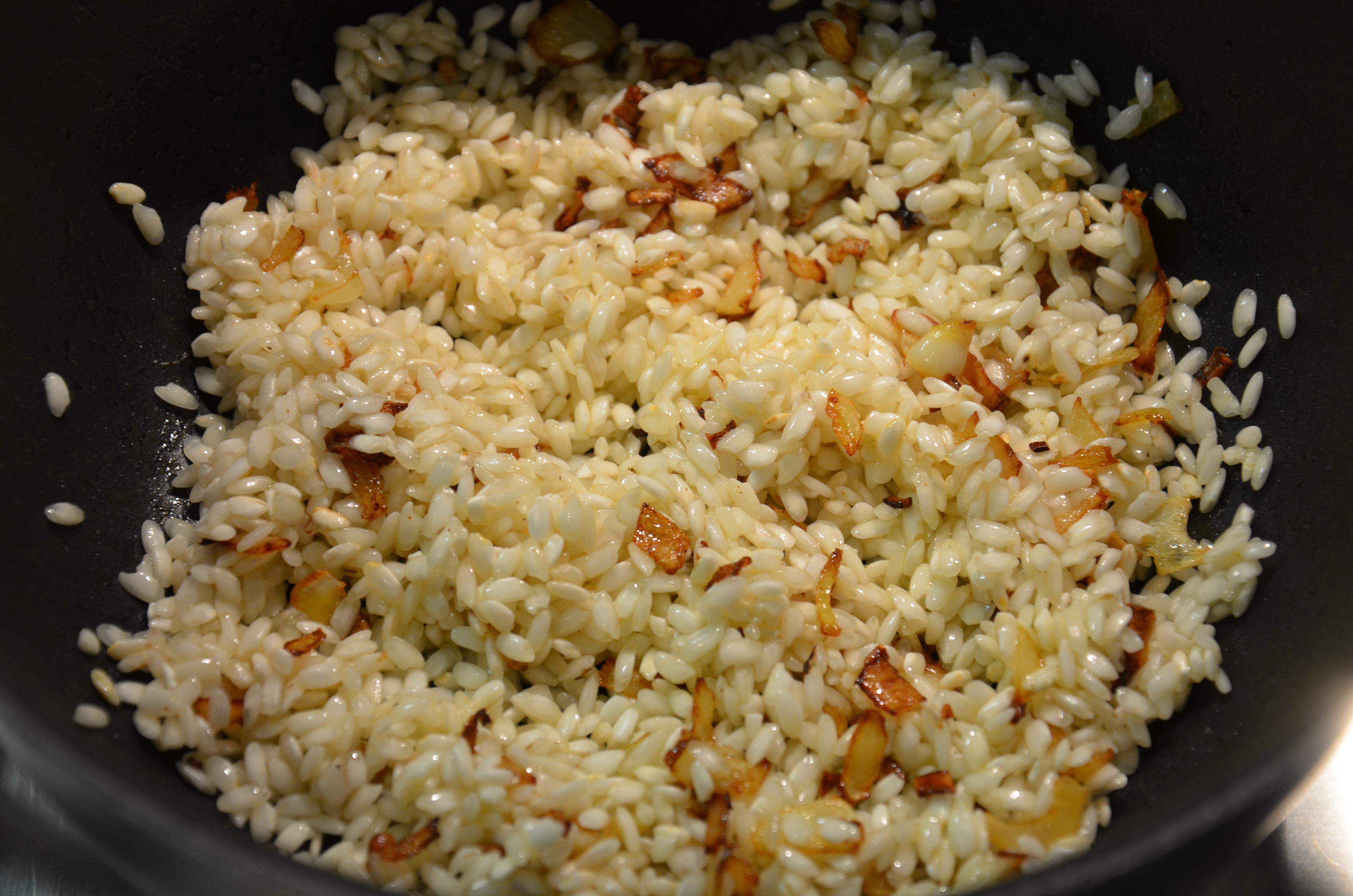 risotto champignon 3