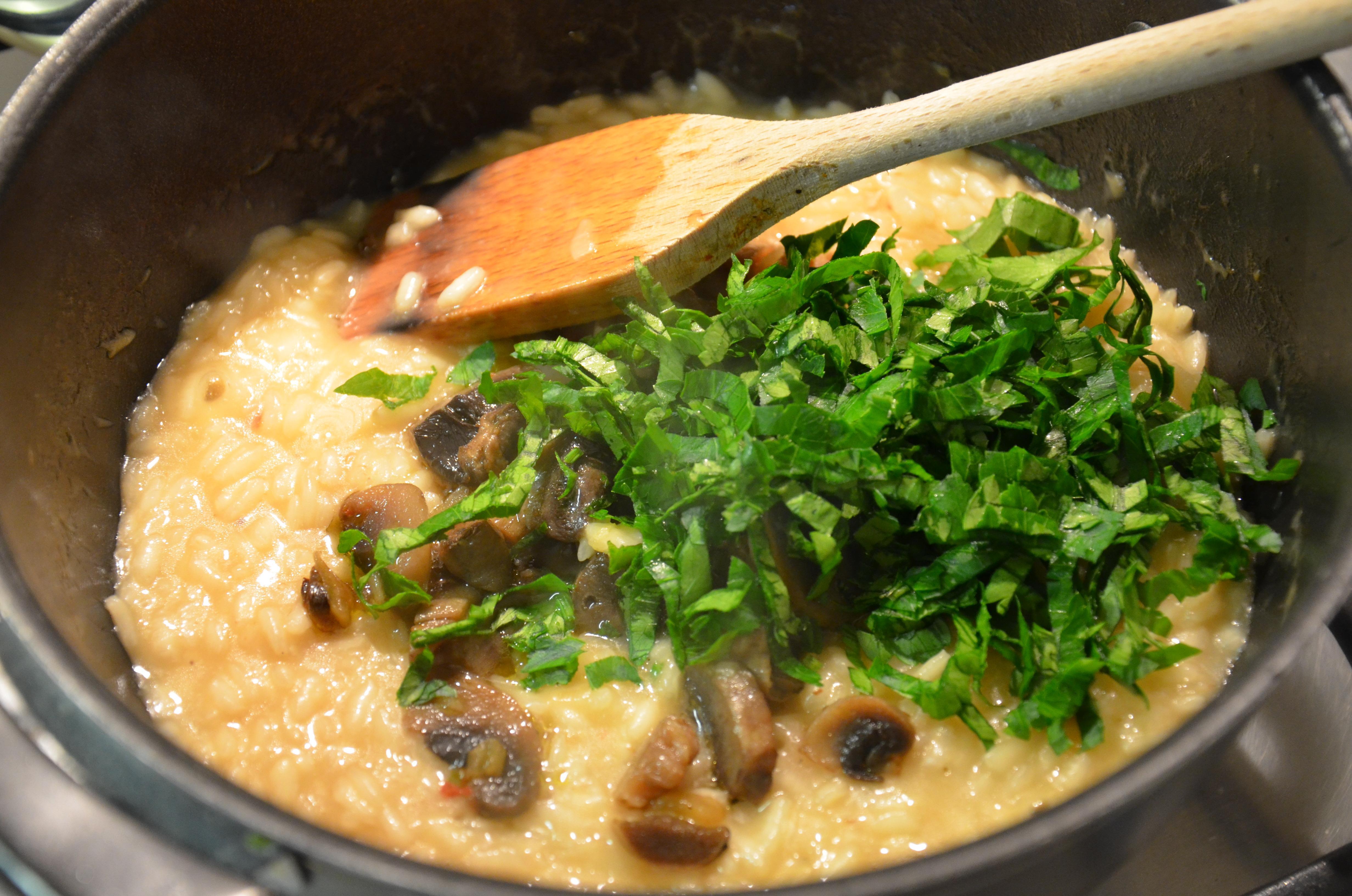risotto champignon 5