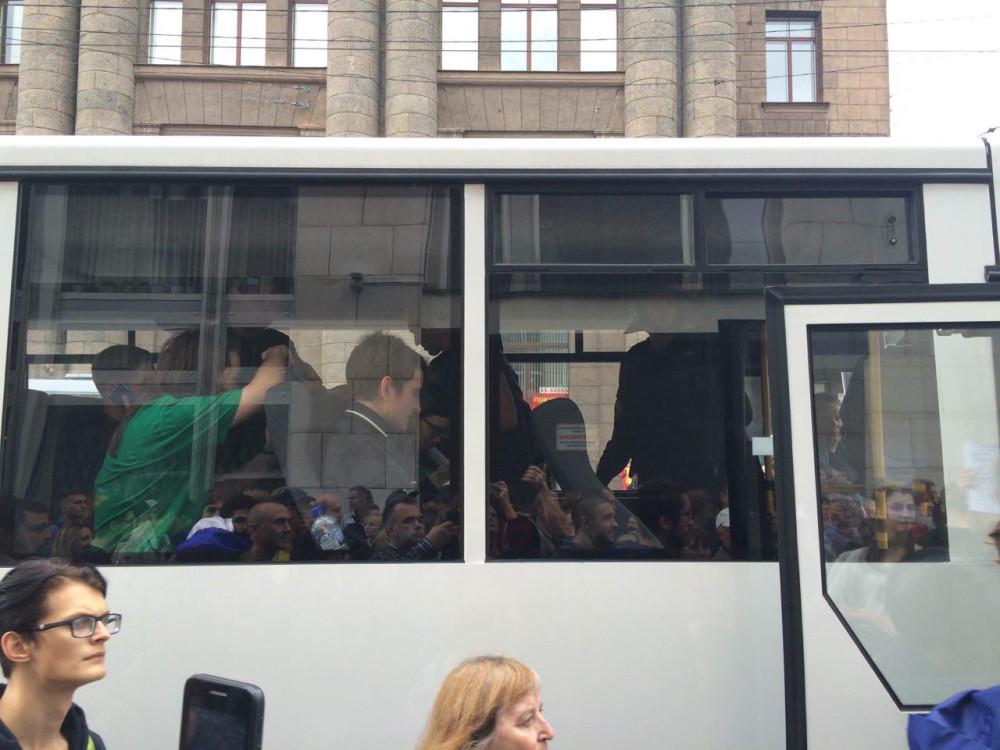 Митинг Навального. ВИДЕО задержаний