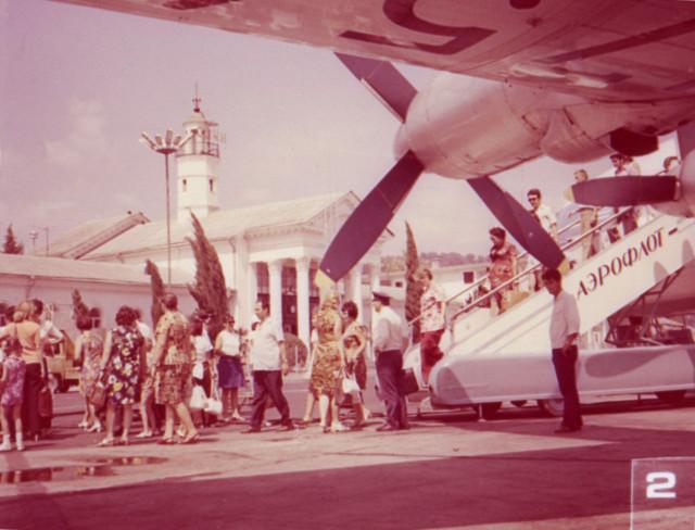 Аэропорт Адлера - воздушные ворота Сочи