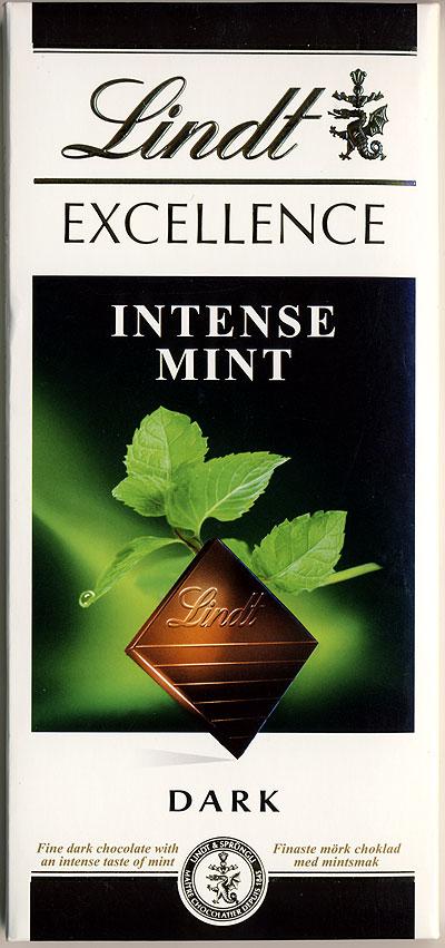 Шоколад Lindt Мята