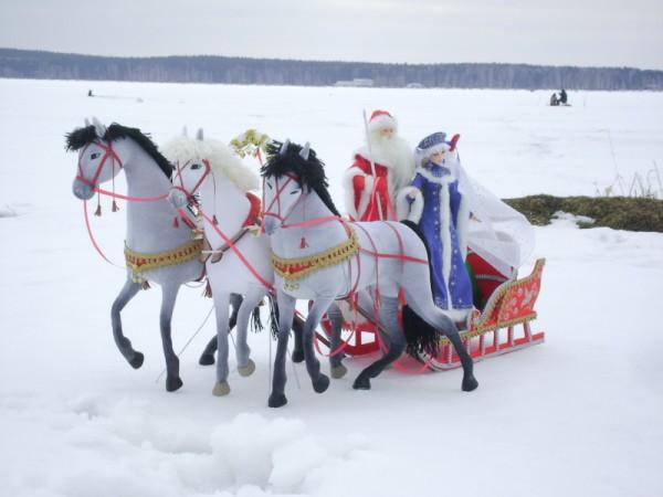 Дед мороз и сани иКак С Как