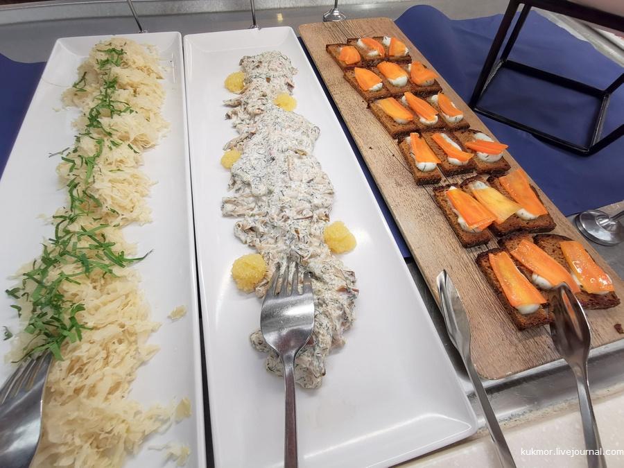 круизный паром, Viking Line, на пароме, круиз, ужин, еда, шведский стол, вкусно, путешествия, Хельсинки, Стокгольм, kukmor