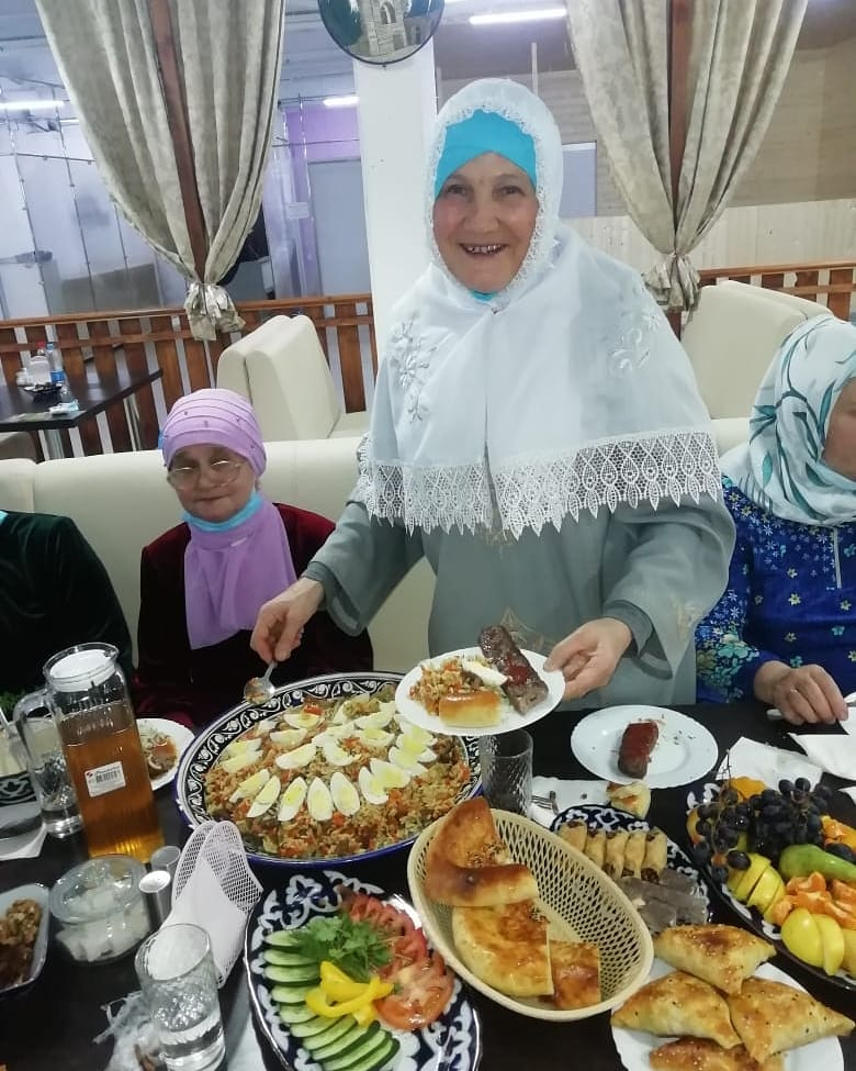 У мамы начался месяц Рамадан