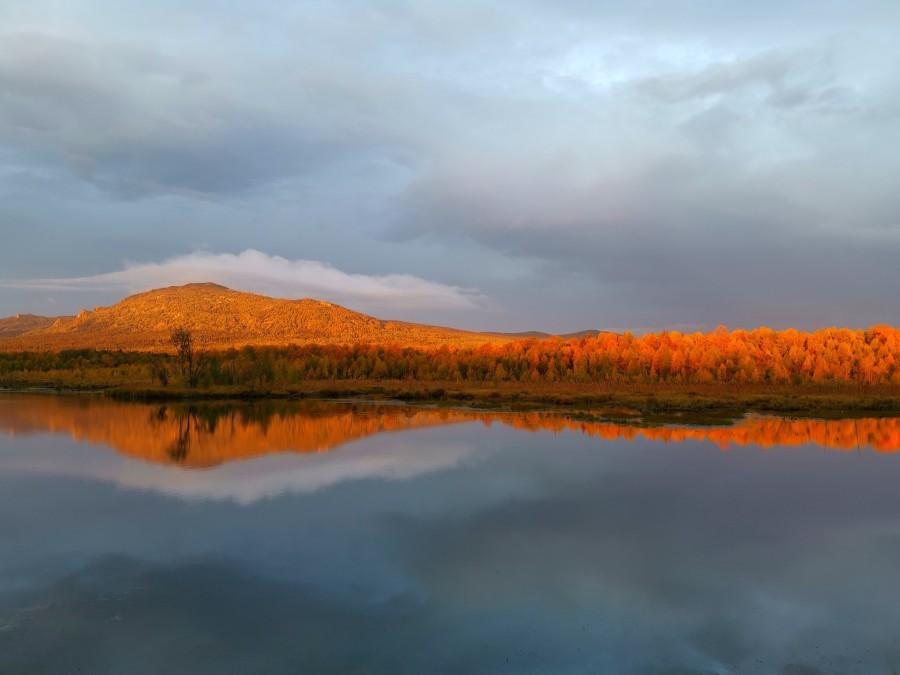 Доброе утро! Золотые мгновения рассвета на Журавлином болоте