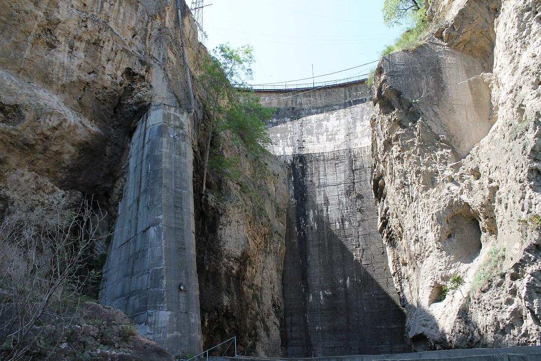 Гергебильская ГЭС, Дагестан, Русгидро, 2012г, Аксанов Нияз, kukmor