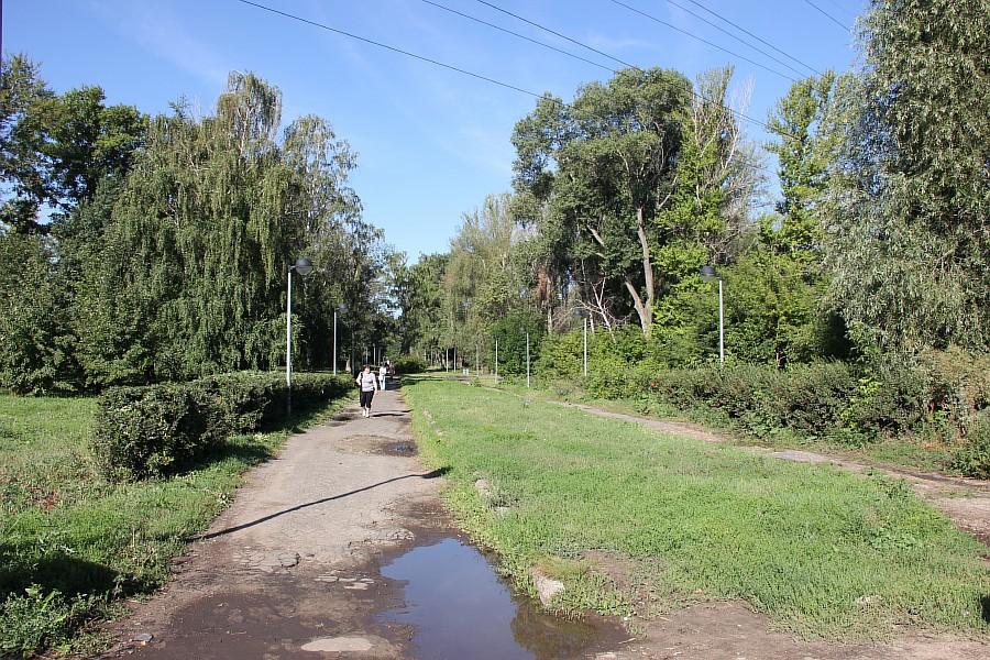 Парк Молодоженов Казань Блогер против мусора 2012 Зеленый парк  00