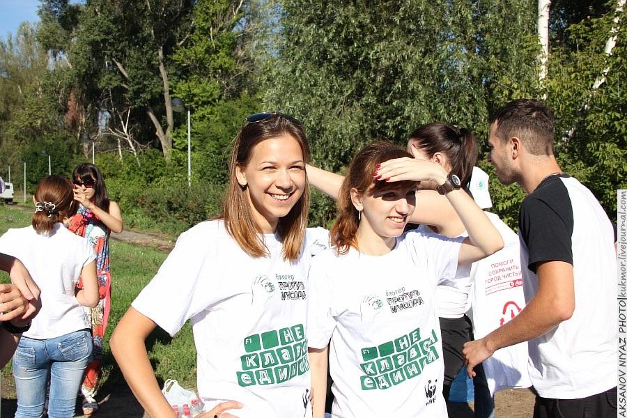 Парк Молодоженов Казань Блогер против мусора 2012 Зеленый парк  04