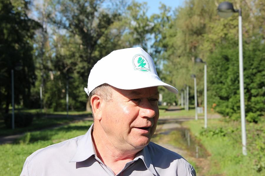 Парк Молодоженов Казань Блогер против мусора 2012 Зеленый парк  05