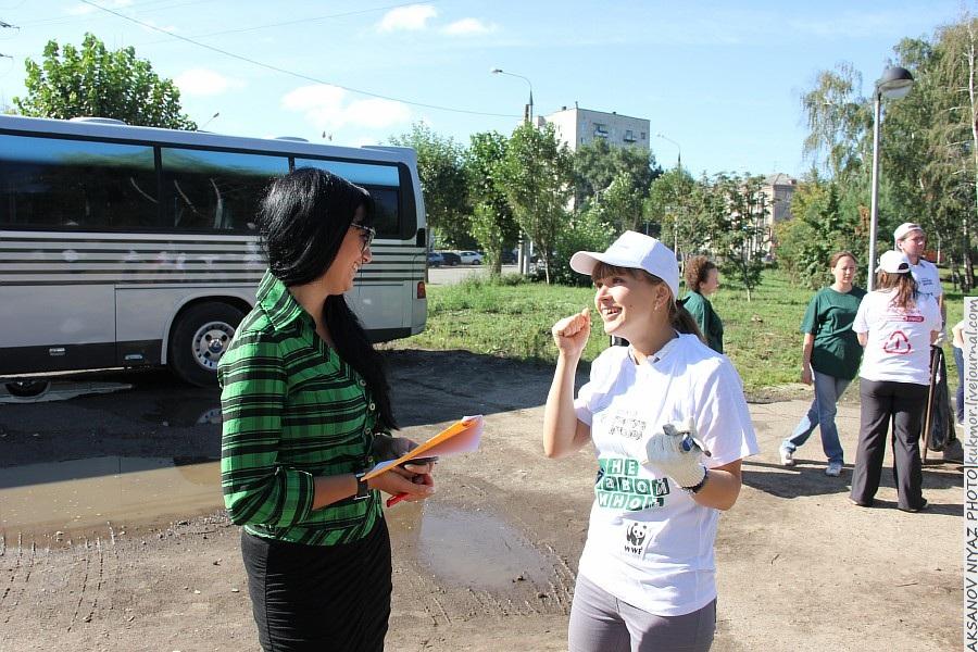Парк Молодоженов Казань Блогер против мусора 2012 Зеленый парк  11