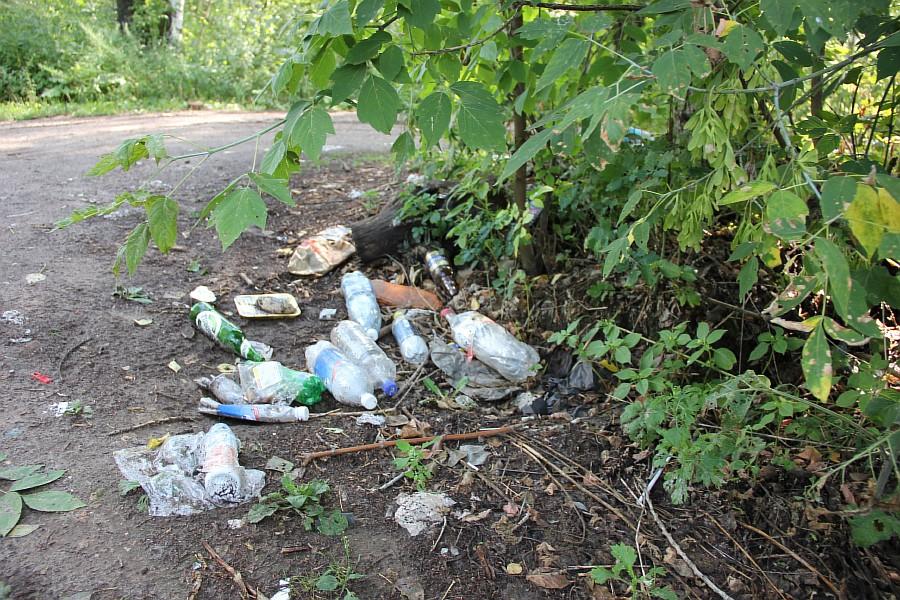 Парк Молодоженов Казань Блогер против мусора 2012 Зеленый парк  14