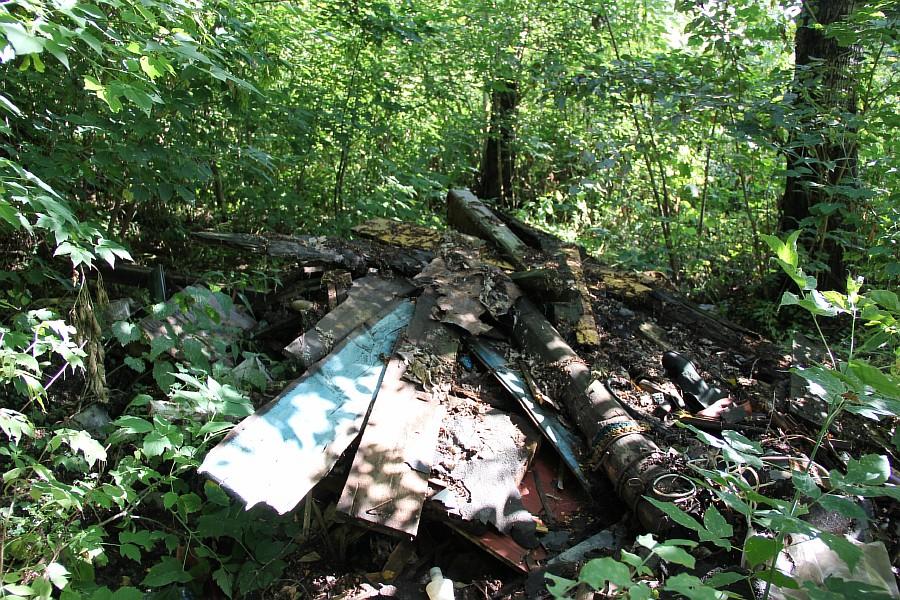 Парк Молодоженов Казань Блогер против мусора 2012 Зеленый парк  16