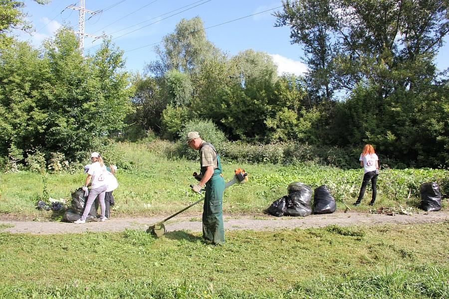 Парк Молодоженов Казань Блогер против мусора 2012 Зеленый парк  21