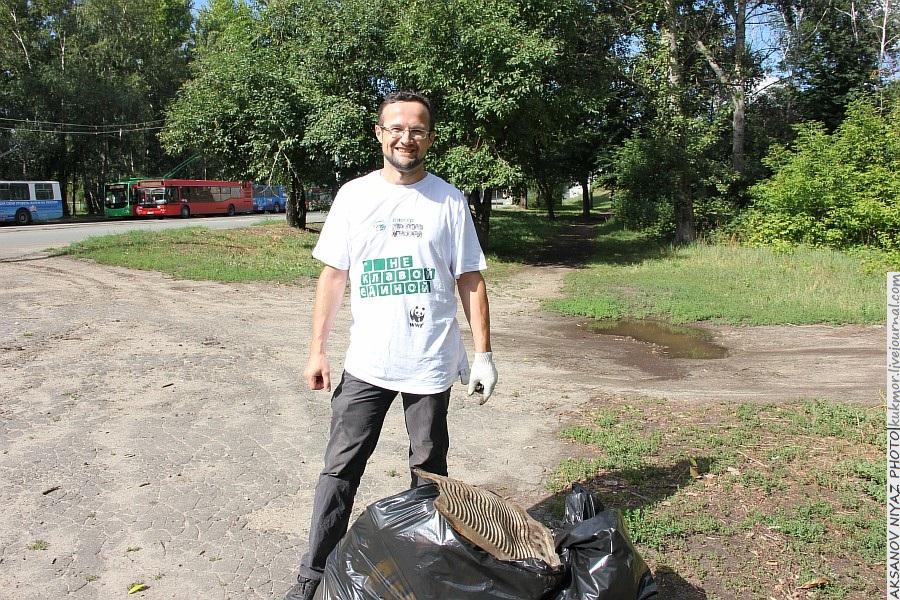 Парк Молодоженов Казань Блогер против мусора 2012 Зеленый парк  23