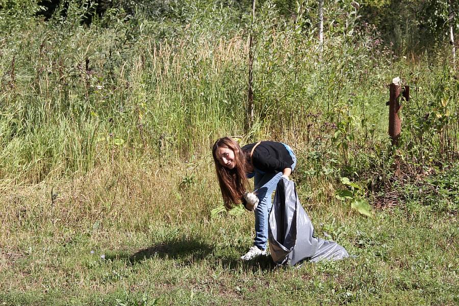 Парк Молодоженов Казань Блогер против мусора 2012 Зеленый парк  25