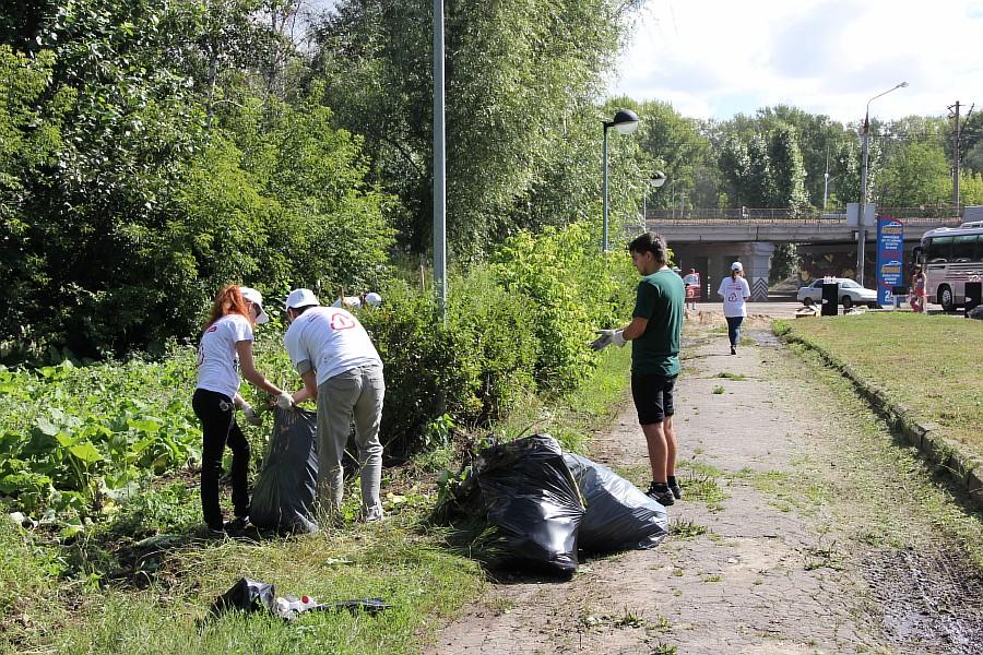 Парк Молодоженов Казань Блогер против мусора 2012 Зеленый парк  28