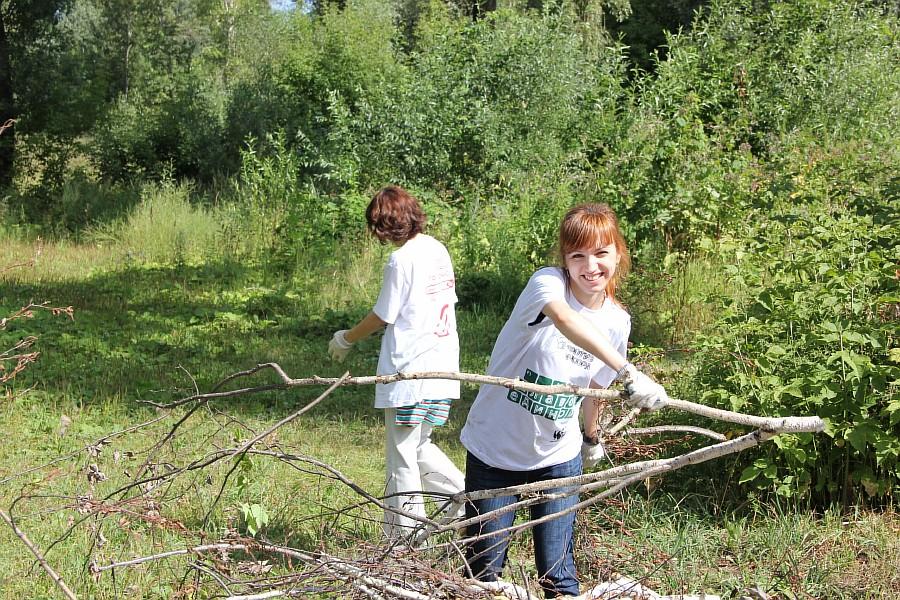 Парк Молодоженов Казань Блогер против мусора 2012 Зеленый парк  32