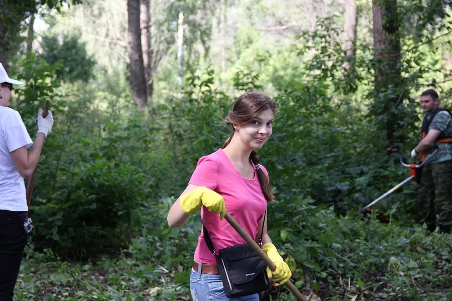 Парк Молодоженов Казань Блогер против мусора 2012 Зеленый парк  35