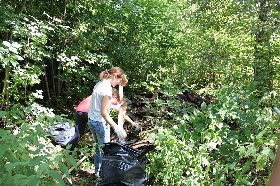 Парк Молодоженов Казань Блогер против мусора 2012 Зеленый парк  42