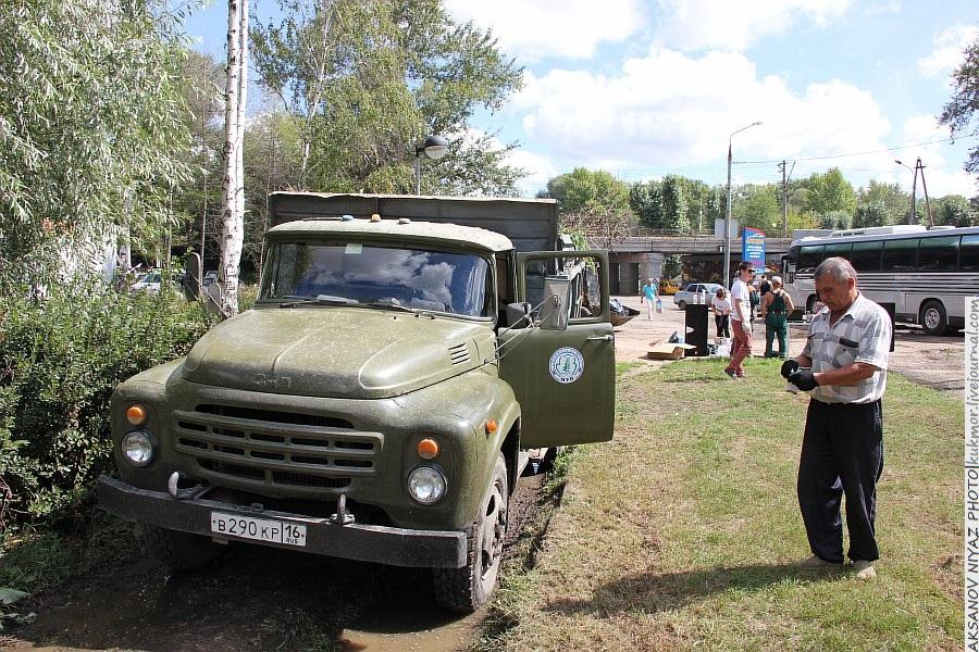 Парк Молодоженов Казань Блогер против мусора 2012 Зеленый парк  45