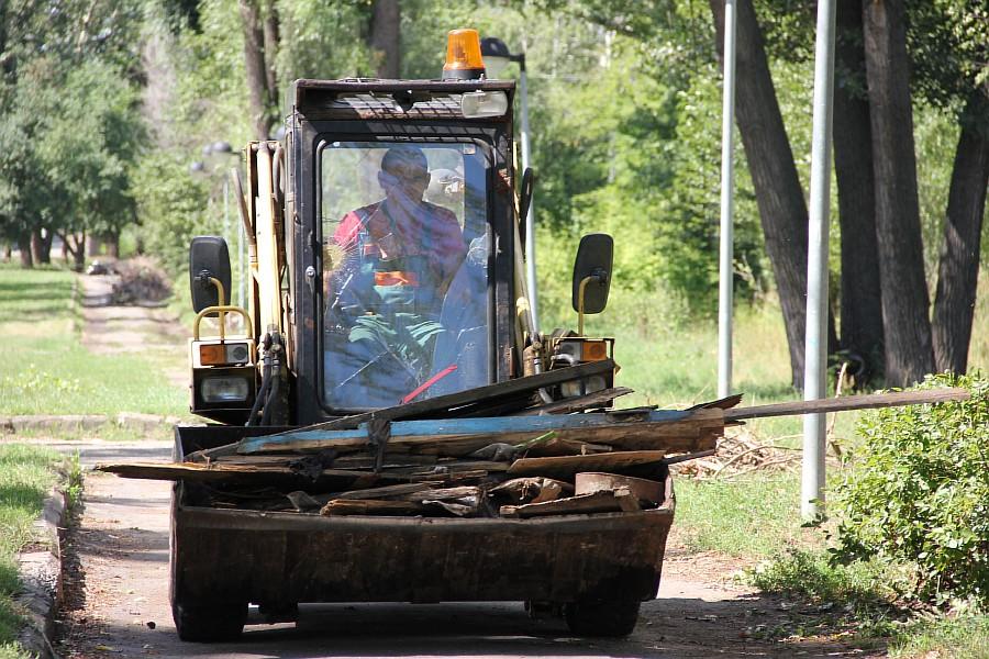 Парк Молодоженов Казань Блогер против мусора 2012 Зеленый парк  51