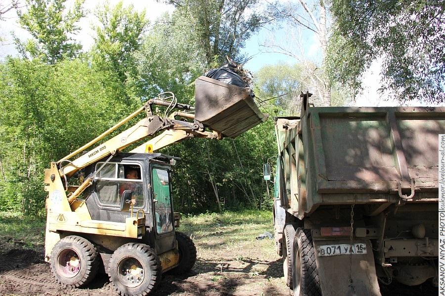 Парк Молодоженов Казань Блогер против мусора 2012 Зеленый парк  53