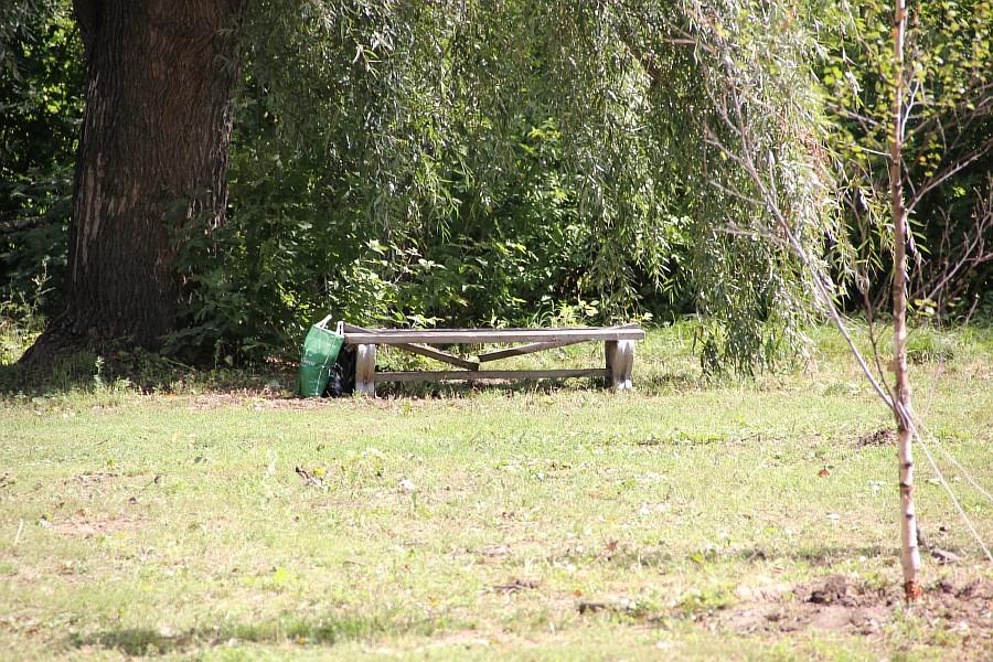Парк Молодоженов Казань Блогер против мусора 2012 Зеленый парк  54