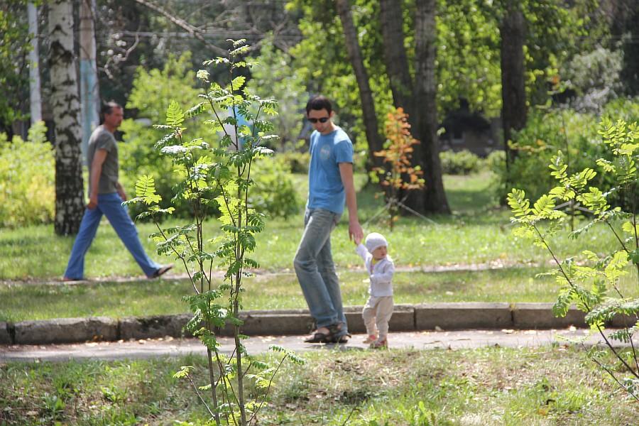 Парк Молодоженов Казань Блогер против мусора 2012 Зеленый парк  55