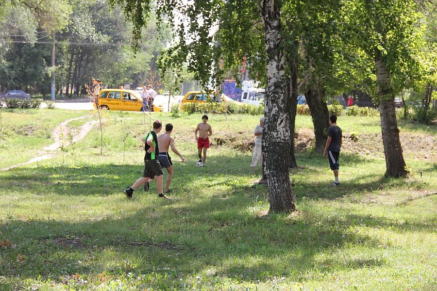 Парк Молодоженов Казань Блогер против мусора 2012 Зеленый парк  59