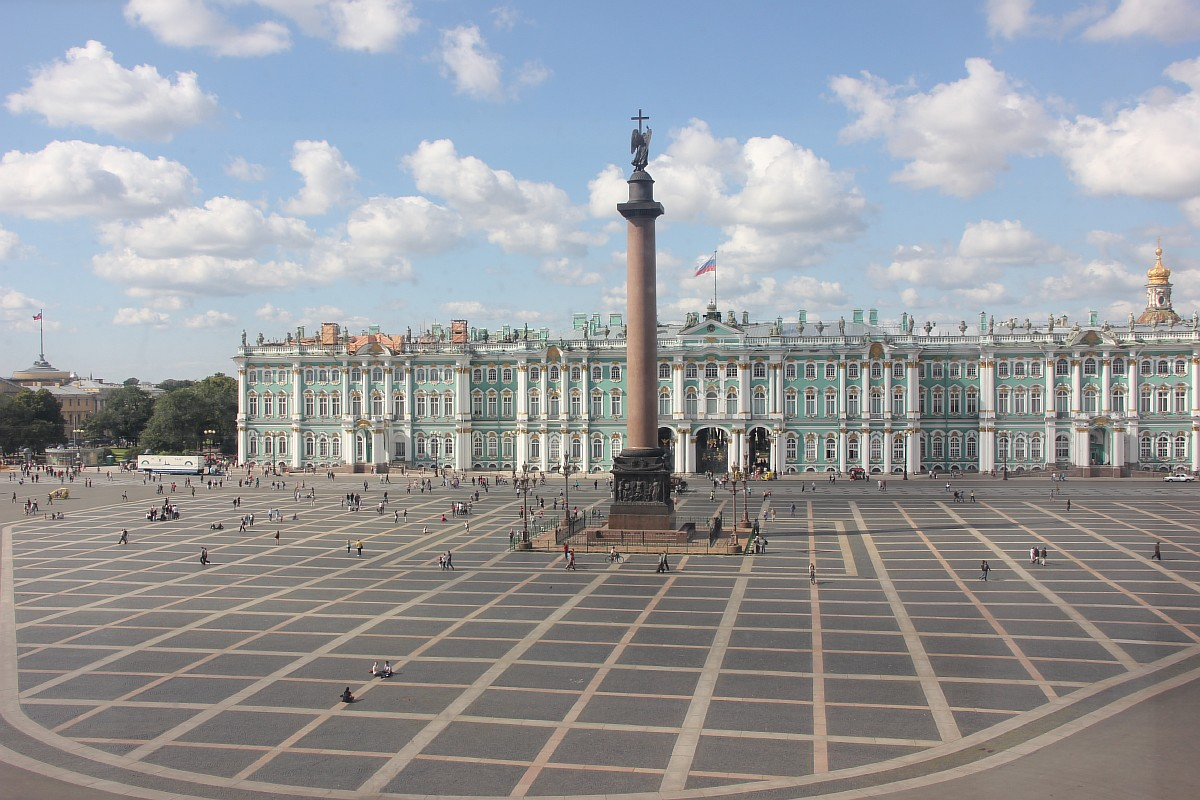 дворцовая площадь зимний дворец открытка последнее время