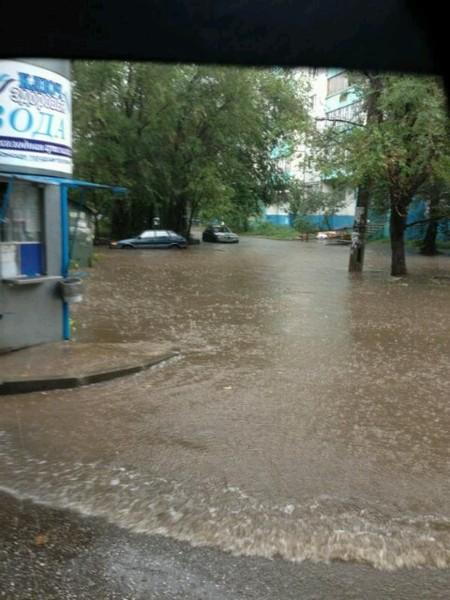 Казань, утонула, потоп, ливень, 21 августа, kukmor, фотография, пробки