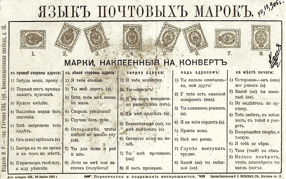 язык марок