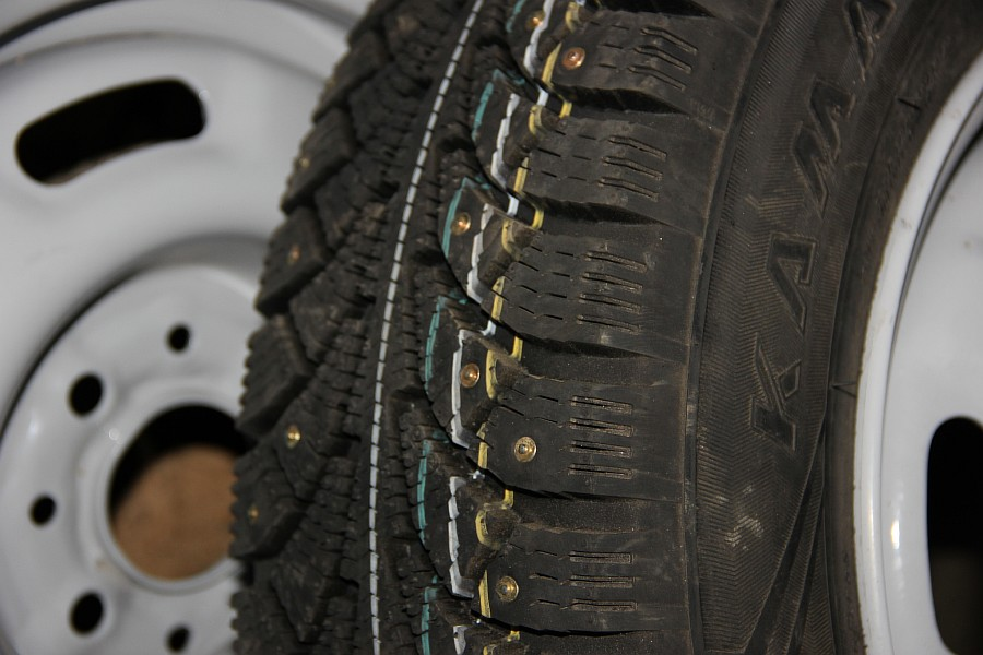 Кама Евро 519 зимняя шипованная резина