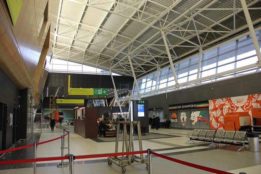 Казань Аэропорт новый Терминал 1А  Универсиада2013   IMG_3852
