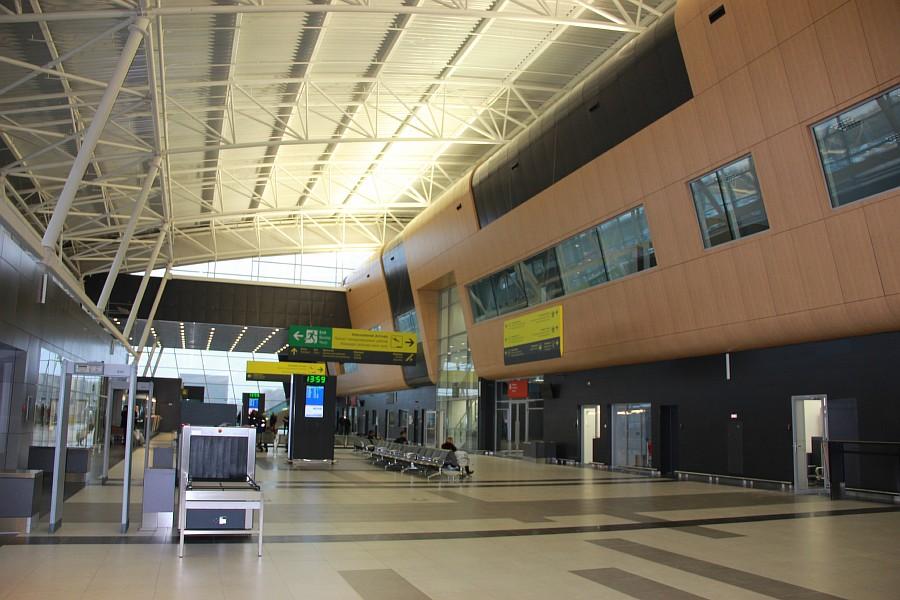 Казань Аэропорт новый Терминал 1А  Универсиада2013   IMG_3854