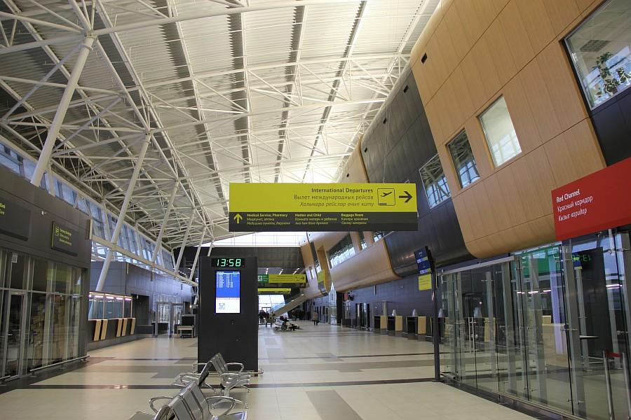 Казань Аэропорт новый Терминал 1А  Универсиада2013   IMG_3856
