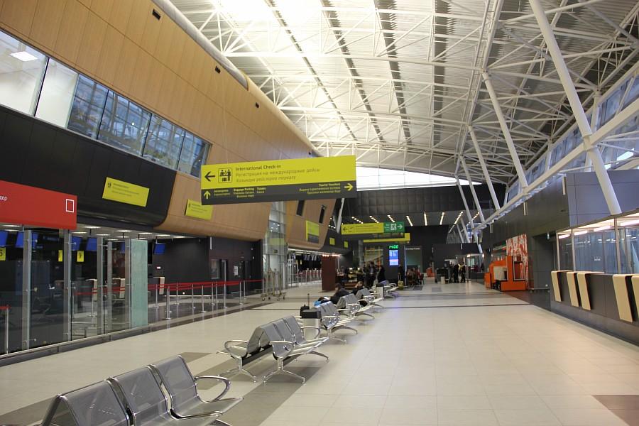 Казань Аэропорт новый Терминал 1А  Универсиада2013  IMG_3861