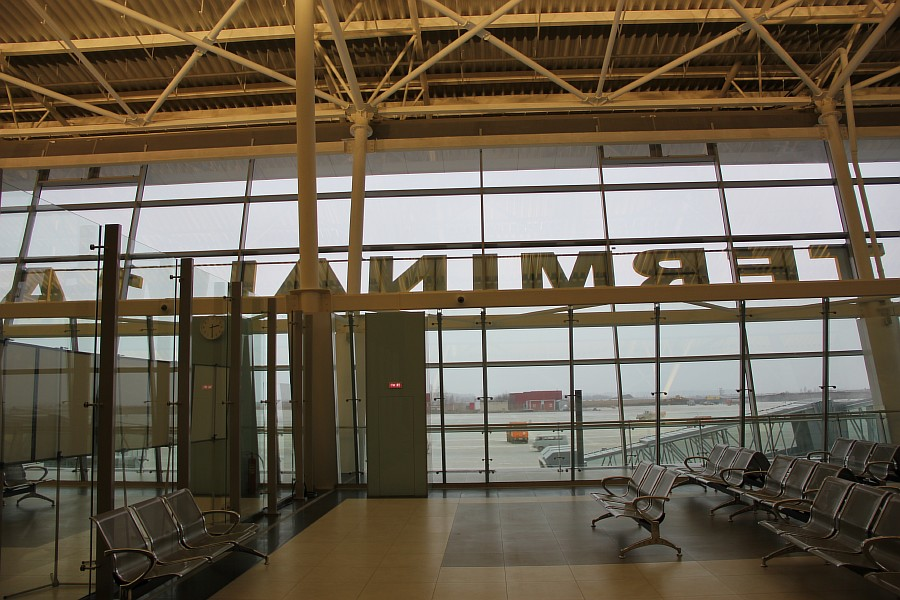 Казань Аэропорт новый Терминал 1А  Универсиада2013  IMG_3887