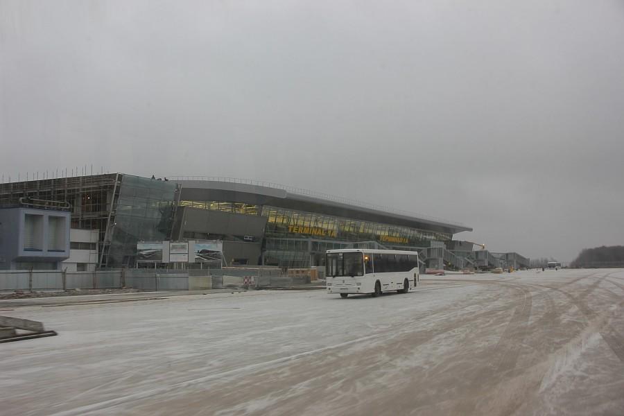 Казань Аэропорт новый Терминал 1А  Универсиада2013  IMG_3891