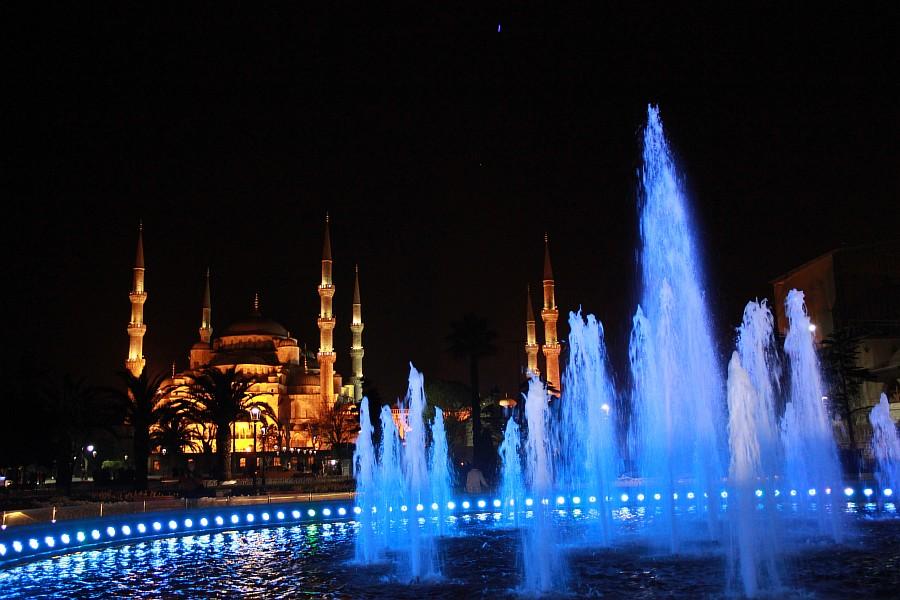 Стамбул, фотография, Голубая мечеть, путешествия, Аксанов Нияз, kukmor, Istanbul, Blue Mosque, фонтан, Султанахмет,  of IMG_5158