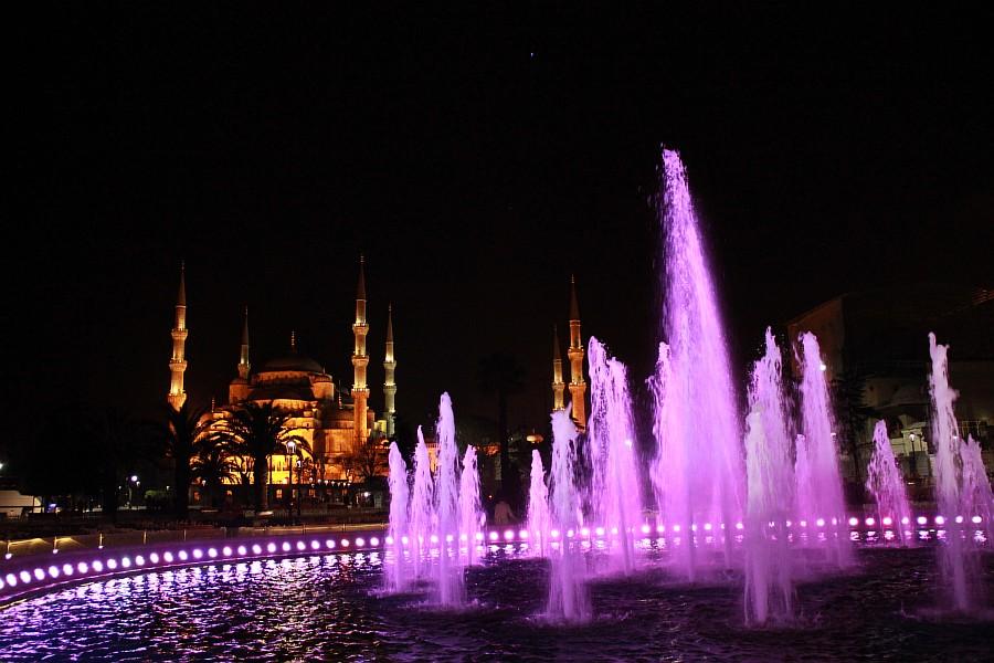 Стамбул, фотография, Голубая мечеть, путешествия, Аксанов Нияз, kukmor, Istanbul, Blue Mosque, фонтан, Султанахмет,  of IMG_5159