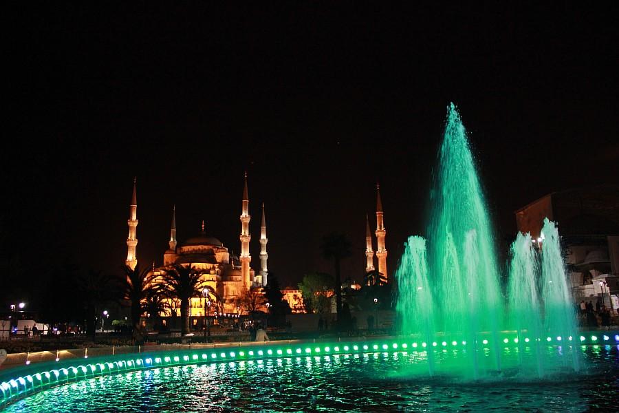 Стамбул, фотография, Голубая мечеть, путешествия, Аксанов Нияз, kukmor, Istanbul, Blue Mosque, фонтан, Султанахмет,  of IMG_5163