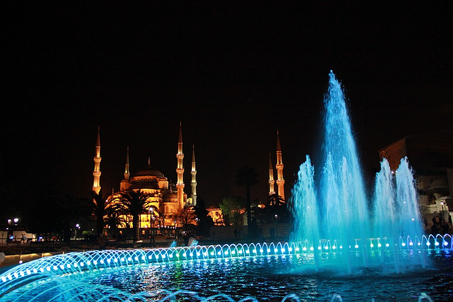 Стамбул, фотография, Голубая мечеть, путешествия, Аксанов Нияз, kukmor, Istanbul, Blue Mosque, фонтан, Султанахмет,  of IMG_5164