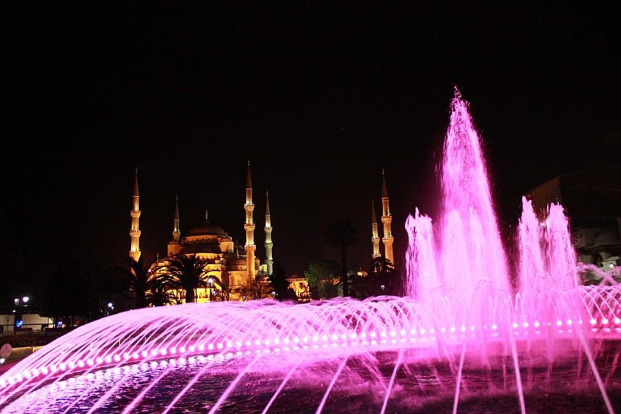 Стамбул, фотография, Голубая мечеть, путешествия, Аксанов Нияз, kukmor, Istanbul, Blue Mosque, фонтан, Султанахмет,  of IMG_5167