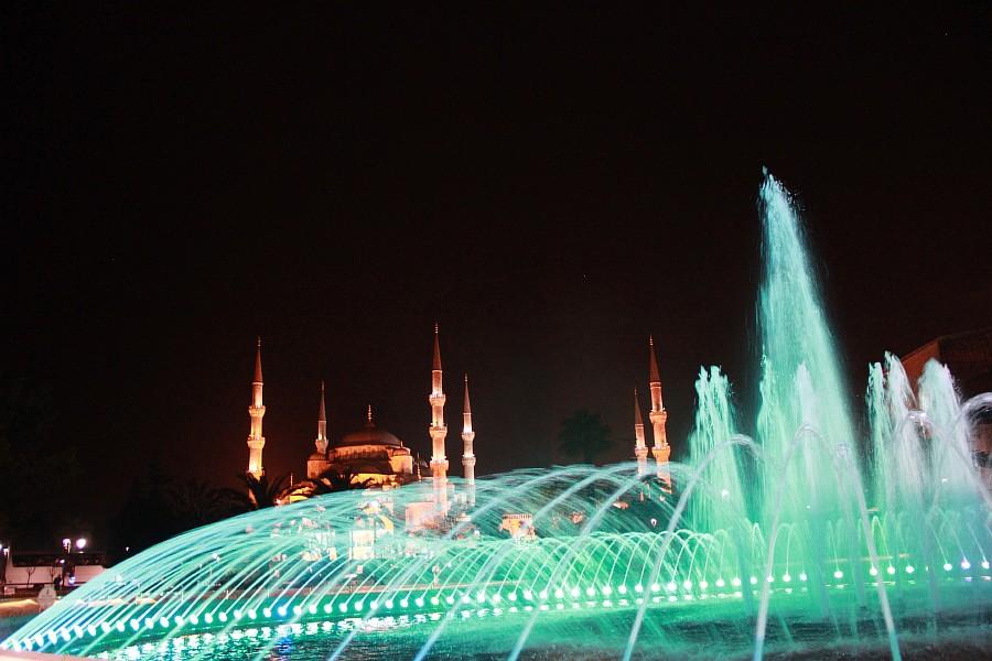 Стамбул, фотография, Голубая мечеть, путешествия, Аксанов Нияз, kukmor, Istanbul, Blue Mosque, фонтан, Султанахмет,  of IMG_5171