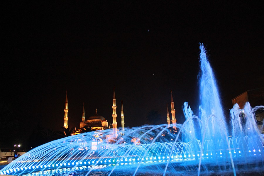 Стамбул, фотография, Голубая мечеть, путешествия, Аксанов Нияз, kukmor, Istanbul, Blue Mosque, фонтан, Султанахмет,  of IMG_5173