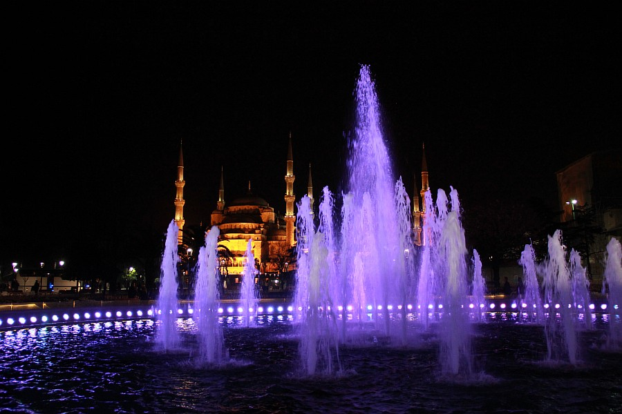 Стамбул, фотография, Голубая мечеть, путешествия, Аксанов Нияз, kukmor, Istanbul, Blue Mosque, фонтан, Султанахмет,  of IMG_5175